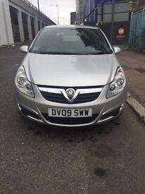 Vauxhall Corsa 1.2L Silver