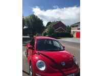 2008 Beetle Red