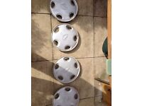 4 Wheel Trims for Nissan Micra