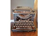 Antique LC Smith Type 8 vintage typewriter