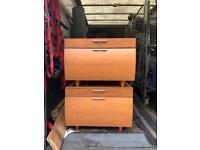 Two bedside tables fir sale