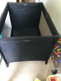 Travel cot - hardly used