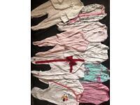 3-6 months baby bundle x 9