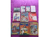 Vintage Childrens Books and Annuals from 1930's to 1950's