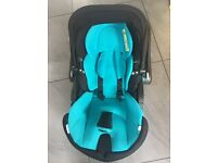 Kiddy Evo Lunafix car seat with isofix base