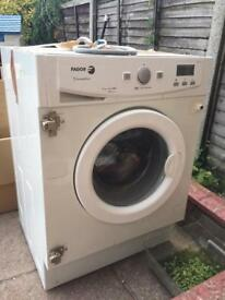 Fagor innovation integrated washing machine