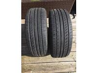 Part worn tyres 205/55 zr16 xl
