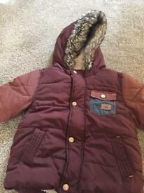 Boys winter coat from next 1.5-2yrs