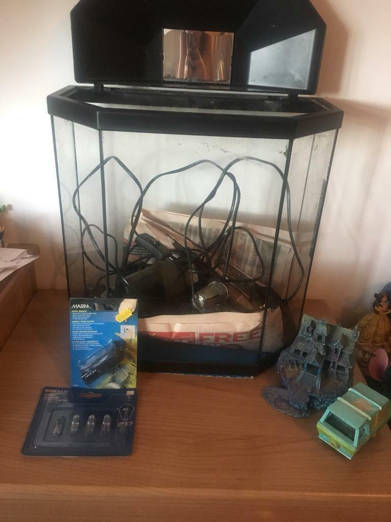 Tropical fish tank with all working parts! | in Ballygowan, County Down |  Gumtree