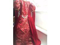 RED PRINCESS DRESS (3-4 yr olds) Brand New. TK Max