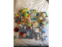 Bundle of Baby Toys (0-6 Months)