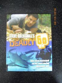 Steve Backshalls Deadly 60 - Hardback BOOK