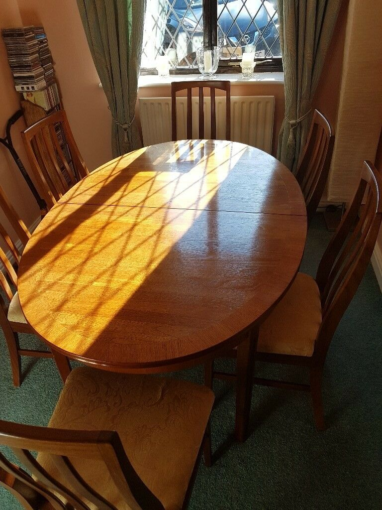 Reduced Extending William Lawrence Solid Teak Dining Table 6