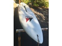 Pacific LiteTec 310 Windsurf Board and Freeride Slalom 6.0 Sail + Accessories (Mast/Handle/Etc)