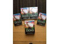 BRAND NEW! DVD Box Set British and Irish Lions Classic Matches