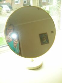 CIRCULAR BEDROOM MIRROR FOR DRESSING TABLE
