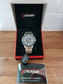 Men's cruiser watch