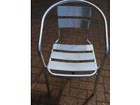 Lightweight Aluminium Garden Chairs