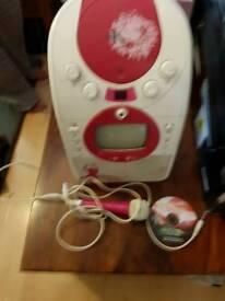 Karaoke CD machine