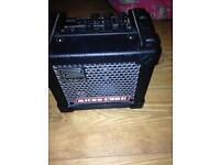 Roland micro cube combo amp with lead