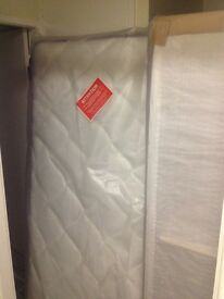 Brand new single bed&memory foam materess