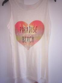 Paradise beach summer tops size 6