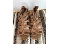 Ladies Brown Sandals