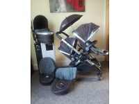 NEW BOXD ICANDY PEACH DOUBLE TRAVEL SYSTEM BARGAIN