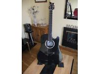 Emerald Carbon Fibre Semi Acoustic Guitar