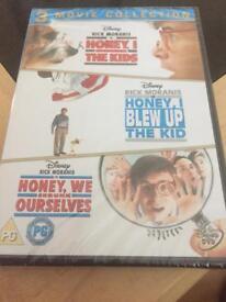 Honey I shrunk the kids triple dvd