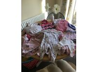 Baby girls bundle newborn - 3 months