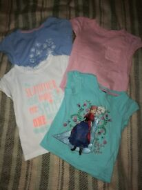 Girls t-shirts for 3-4 year old