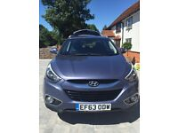 Hyundai IX35 2.0CRI SE 4WD, low milage, extras included & privacy glass.