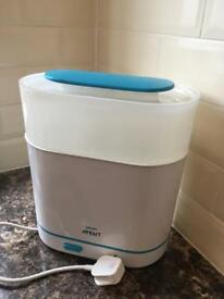 Avent steriliser RRP£70 collection LS17 only