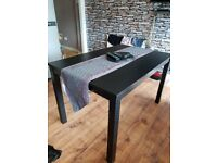 Black dinning table 120 cm lengh 80cm width £40 ono