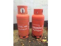 Calor Gas Cylinder x2