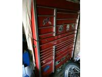 Snap on tool box large tool chest