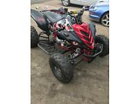 Yamaha raptor 700 road registered