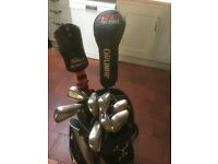 BARGAIN Taylormade RAC OS Steel Irons 3/PW Taylormade Burner 3w Orlimar Driver Powercaddy Bag £200