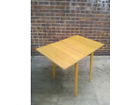 Drop leaf Small Kitchen/Dining/Computer table. Ideal for limited space