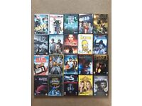 DVDs 20 x movies