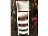 White towel radiator - good condition