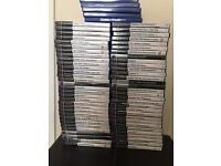 Sony PlayStation PS2 Silver Slim 65+ Games