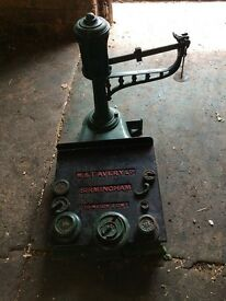 old weighing scales