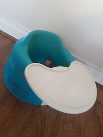 Bumbo seat/feeding chair with tray