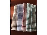 12 New original terry tea towels. 100% cotton