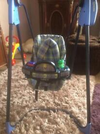 Graco automatic swing