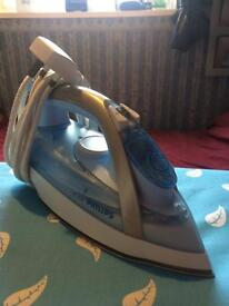 Philips steamglide iron and board