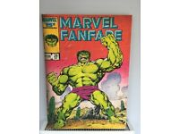 Marvel comics canvas picture