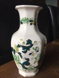 Masons ironstone Chartreuse Vase